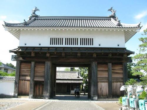 掛川城:大手門