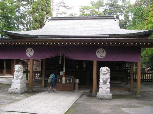 唐沢山神社の社殿