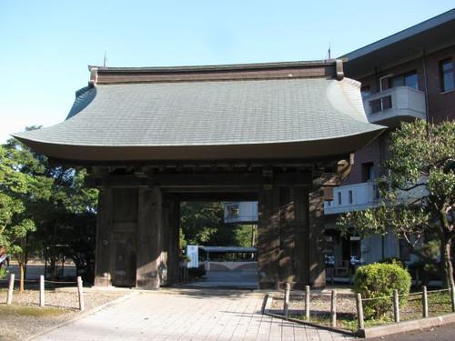 水戸城の薬医門
