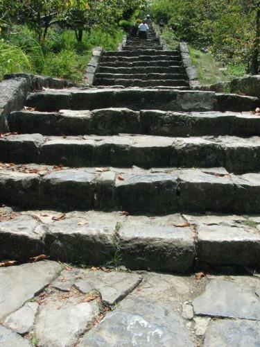 今帰仁城:整備された階段