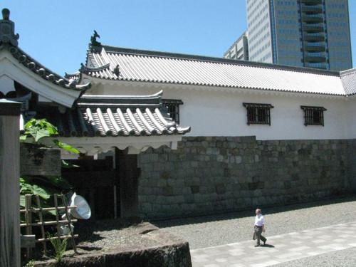 駿府城東御門の多門櫓