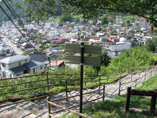高遠城:大手門あたりからの眺め
